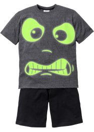 "Jungen Shorty (2-tlg. Set) ""GLOW IN THE DARK"", bpc bonprix collection"