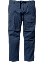 Cargohose Regular Fit Straight, bpc bonprix collection, dunkelblau
