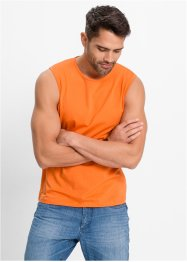 Muskel-Shirt im 3er-Pack, Regular Fit, bpc bonprix collection, orange+grün+weiß