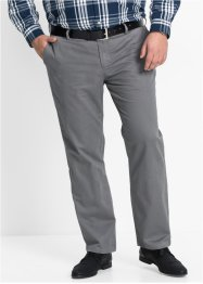 Chino-Hose Regular Fit, bpc bonprix collection, rauchgrau