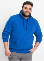 Sweatshirt m. Kapuze Regular Fit, bpc bonprix collection, azurblau