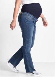 Umstandsjeans, Mini-Bootcut, bpc bonprix collection, blue stone