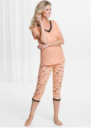 Capri-Leggings Bio-Baumwolle (2er-Pack), bpc selection