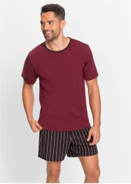 Shorty, bpc bonprix collection, bordeaux gestreift