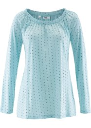 Langarmshirt, bpc bonprix collection, polarmint gemustert