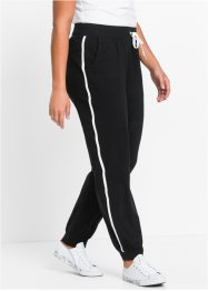Stretch-Jogginghose, bpc bonprix collection, schwarz