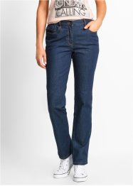 Hochgeschnittene Stretch-Jeans, bpc bonprix collection, darkblue stone