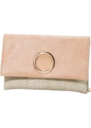 Clutch, bpc bonprix collection, nude/animal