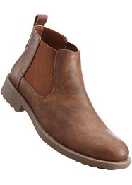 Chelseaboot, bpc bonprix collection, cognac
