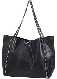 Shopper mit Kettendetail, bpc bonprix collection, grau