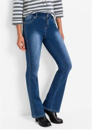 Power-Stretch-Jeans Bootcut, John Baner JEANSWEAR, dunkelblau