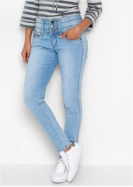 "Power-Stretch-Jeans ""Bauch-Beine-Po"", Slim, John Baner JEANSWEAR, hellblau"