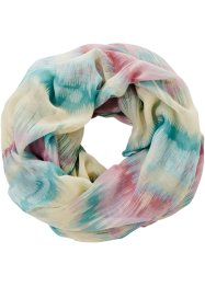 Loop bunt, bpc bonprix collection, hellblau/rosa/wollweiß