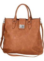 Handtasche, bpc bonprix collection, cognac