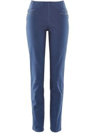 Jeggings mit Zipper, bpc bonprix collection, indigo