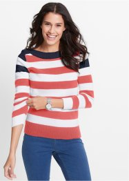 Pullover mit U-Boot-Ausschnitt, bpc bonprix collection