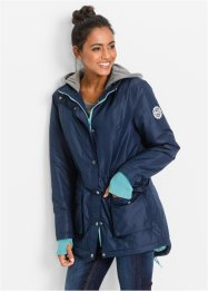 Funktionaler Parka in 2-in-1-Optik, bpc bonprix collection, dunkelblau