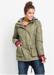 Funktionaler Parka in 2-in-1-Optik, bpc bonprix collection, oliv