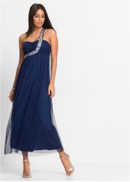 One-Shoulder-Maxikleid, BODYFLIRT, mitternachtsblau