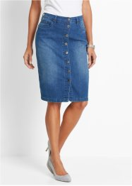 Jeansrock, bpc selection, blue stone