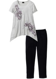 Pyjama mit 3/4-Leggings, bpc bonprix collection
