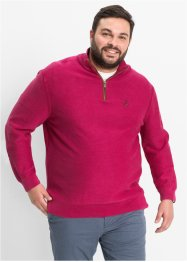 Troyer-Pullover Regular Fit, bpc selection, beerenrot
