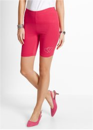 Kurze Leggings, bpc selection, hibiskuspink