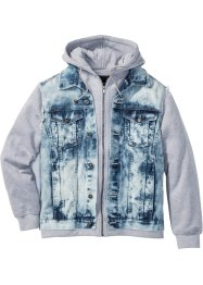 Jeansjacke Regular Fit, RAINBOW, blue bleached