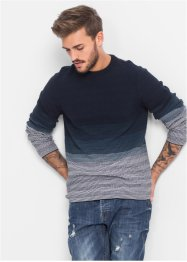 Pullover Slim Fit, RAINBOW, blau