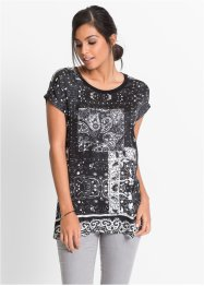 Shirt mit Glitzerapplikation, BODYFLIRT