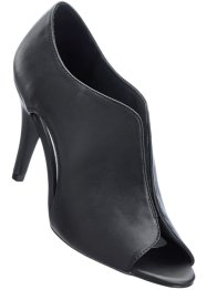 Peeptoepumps, bpc selection, schwarz