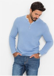 Pullover Regular Fit, bpc bonprix collection, perlblau