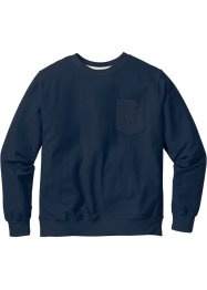 Sweatshirt Regular Fit, bpc bonprix collection, dunkelblau