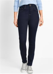 Power-Stretch-Push-Up-Jeans mit Highwaist, bpc bonprix collection, dark denim
