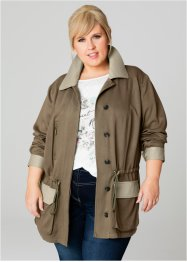 Parka – designt von Maite Kelly, bpc bonprix collection, khakigrün