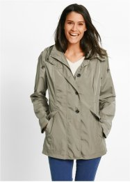 Leichte Kapuzenjacke, bpc bonprix collection, new khaki