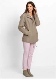 Nylon-Parka, bpc bonprix collection, taupe