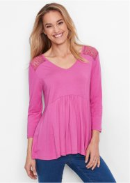 Shirt-Tunika, bpc bonprix collection, hellfuchsia
