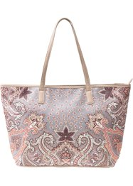 Shopper Paisley mit Strass, bpc bonprix collection