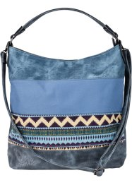 Denim Ethno-Shopper, bpc bonprix collection, jeansblau