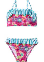 Bikini Mädchen, bpc bonprix collection, pink/türkis