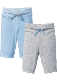 Babyhose aus Jersey (2er-Pack) Bio-Baumwolle, bpc bonprix collection