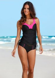 Minimizer Tankini (2-tlg. Set), bpc bonprix collection, pink/schwarz