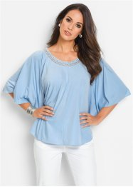 Shirt-Tunika, bpc selection, eisblau
