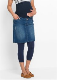Umstands-Jeansrock aus super-Stretch, bpc bonprix collection, blue stone