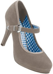 Pumps, bpc bonprix collection, taupe