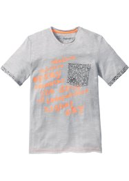 T-Shirt, bpc bonprix collection, mattsilber