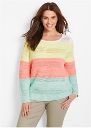 Pullover, bpc bonprix collection, gestreift