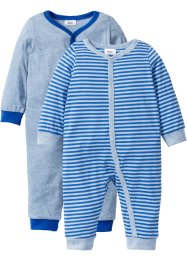 Baby Overall (2er-Pack) Bio-Baumwolle, bpc bonprix collection