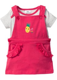 Baby T-Shirt + Kleid (2-tlg.) Bio-Baumwolle, bpc bonprix collection